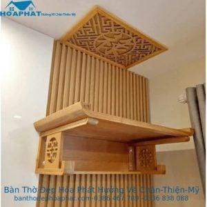 Bàn thờ gỗ Mít TT1025