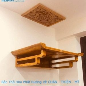 Bàn thờ gỗ Mít TT1027