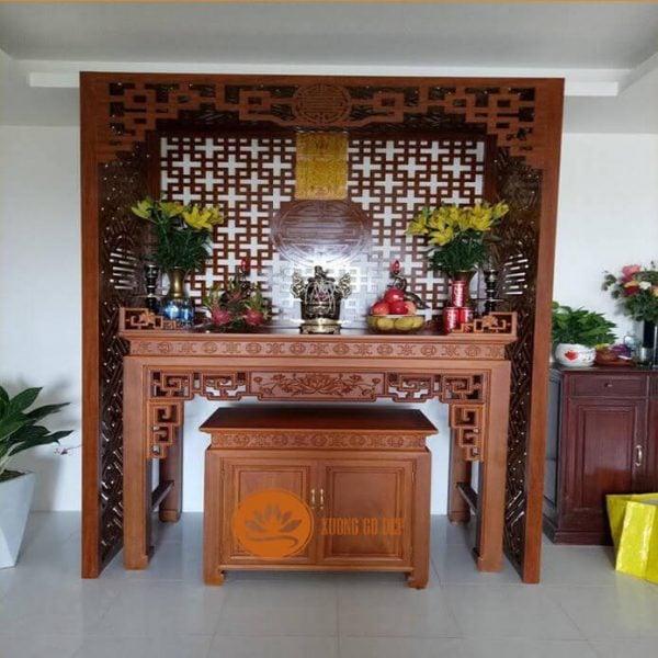Tủ thờ gỗ hương giá bao nhiêu?