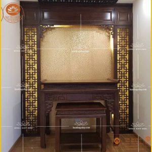 Bàn thờ đẹp đơn giản BT86 – Bàn thờ đứng gỗ gụ cao cấp sang trọng