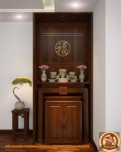 Mẫu bàn thờ hiện đại, thanh lịch cho gia đình