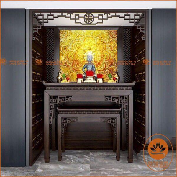 Tranh thờ Phật Bà Quan Âm được nhiều gia đình sử dụng
