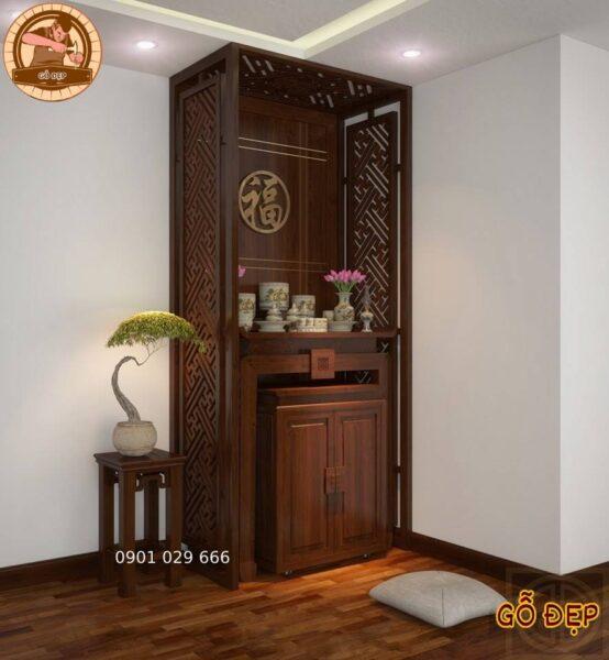 Mẫu tủ thờ chung cư đẹp hiện đại