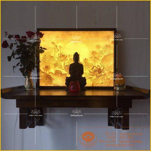 Bàn thờ Phật đẹp và những điều cần biết khi lập tại gia