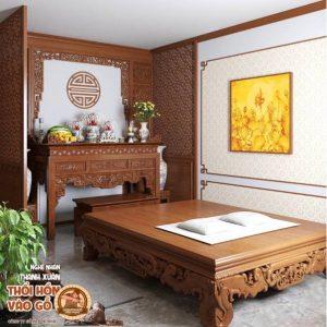 Phòng Thờ Biệt Thự Nhà Vườn Đẹp