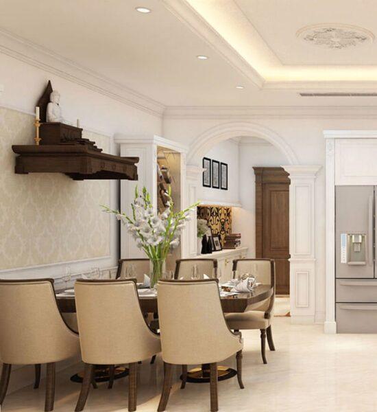 Nên mua bàn thờ treo tường phù hợp với không gian gia đình