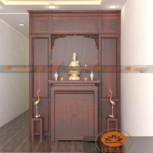 Đặt bàn thờ phù hợp với thiết kế căn hộ