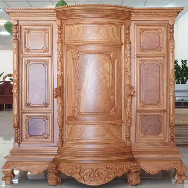 Tủ thờ thường mang đậm phong cách truyền thống