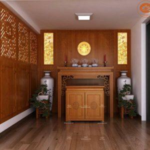 Bàn thờ gia tiên đẹp BT08H- Bàn thờ đứng đẹp hiện đại