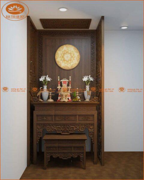 Mẫu bàn thờ chung cư cao cấp BT36G