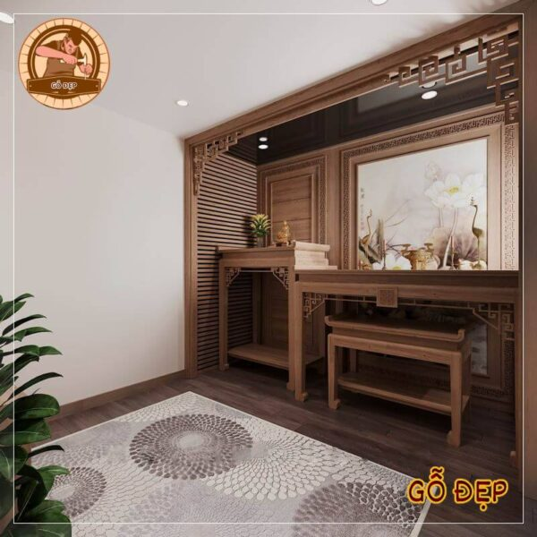 Thiết kế mẫu bàn thờ cho Anh Tùng - 72 nguyễn trãi - Thanh Xuân. lấy ý tưởng từ mẫu bt 26 thiết kế phòng thờ phật và gia tiên đơn giản và hiện đại theo yêu cầu của gia chủ được làm từ chất liệu gỗ gụ