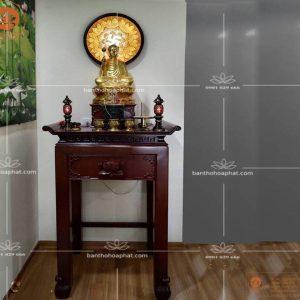 Bàn Thờ BT373- Mẫu bàn thờ chung cư đẹp hiện đại