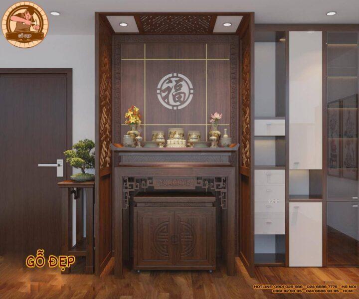bàn thờ chung cư bt 19 mẫu bàn thờ hiện đại đẹp