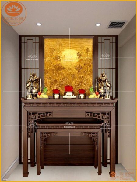 Án gian thờ hay hương án thờ, là một dạng của bàn thờ nhưng được chạm khắc họa tiết cầu kỳ