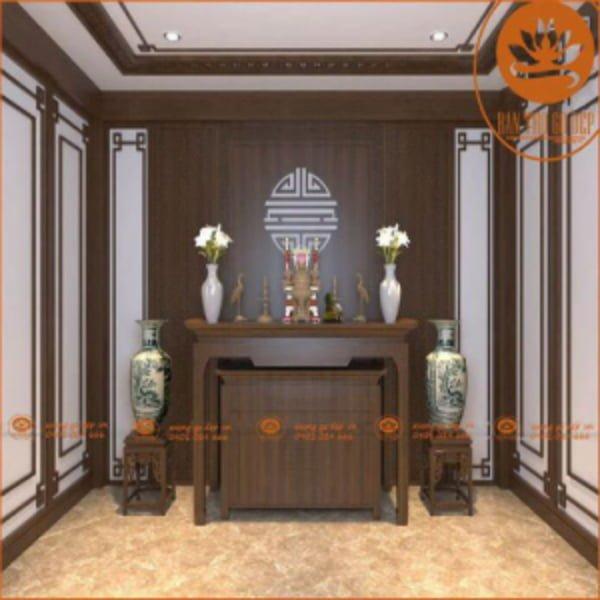 Tủ thờ chung cư và những ưu điểm vượt trội cho căn nhà hiện đại