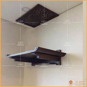 Mẫu bàn thờ chung cư treo tường TT07S – Bàn thờ chung cư cao cấp