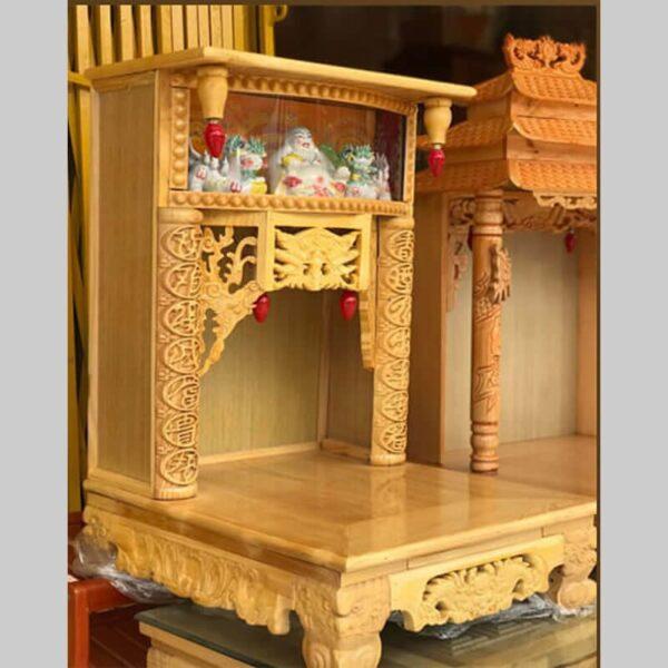 Tủ gỗ sồi được nhiều người ưa chuộng vì giá cả hợp túi tiền