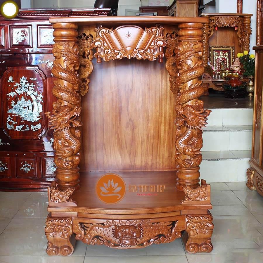 Tủ bàn thờ thần tài có tính thẩm mỹ cao