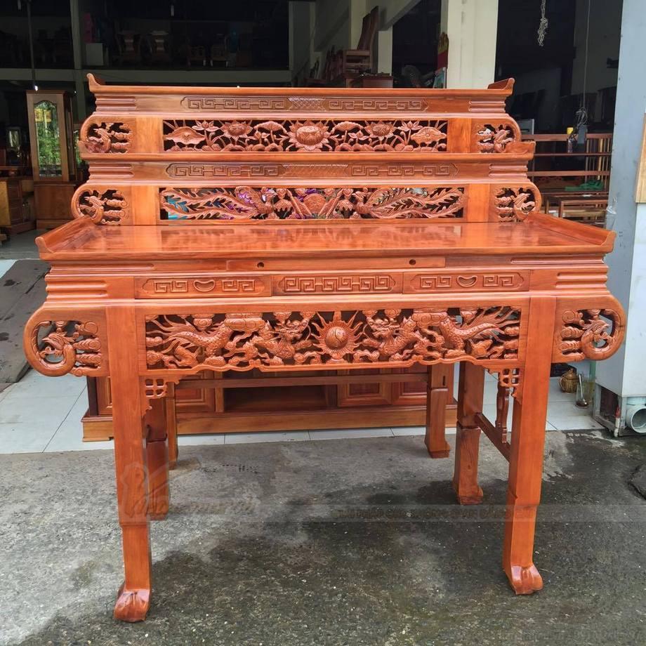 Gỗ làm bàn thờ tuyệt đối phải sử dụng gỗ mới