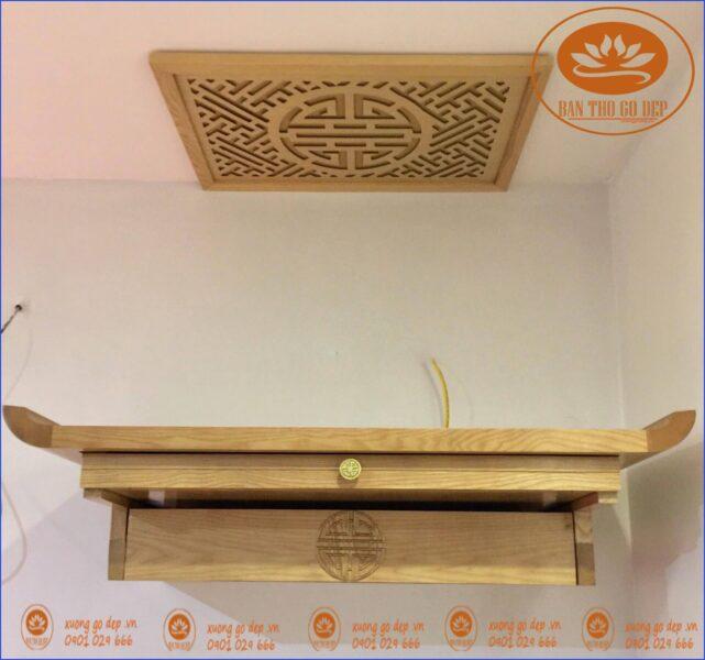 Nguyên tắc khi sử dụng bàn thờ treo