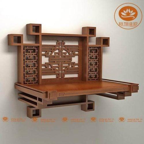 Lưu ý đặc biệt về kích thước bàn thờ treo tường theo phong thủy
