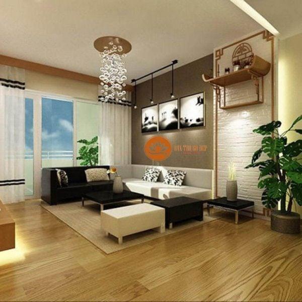 Bỏ túi cách thiết kế bàn thờ phòng khách đón tài lộc vào nhà