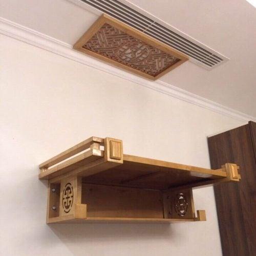 Các kiểu bàn thờ treo tường đẹp được sử dụng phổ biến nhất