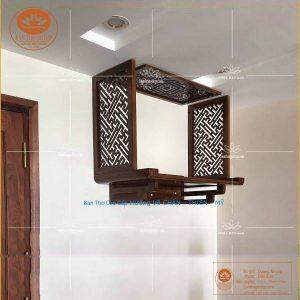 Bàn thờ chung cư TT05B- Không gian thờ treo tường kiểu mới
