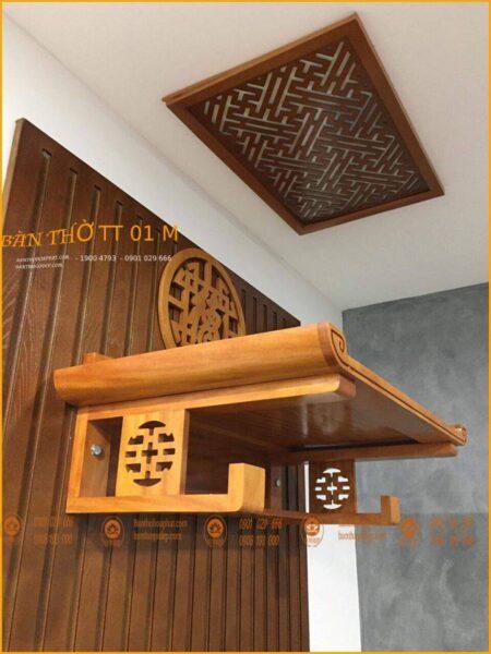 Bàn thờ gỗ Mít cao cấp hiện đại
