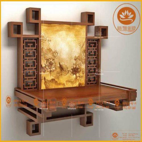 Chọn loại bàn thờ phù hợp với không gian gia đình