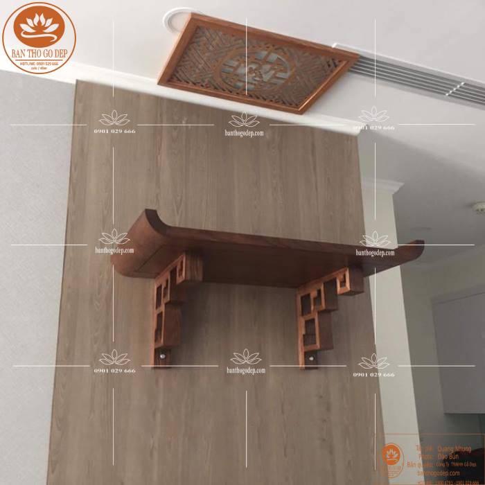 Mẫu bàn thờ chung cư hiện đại đơn giản