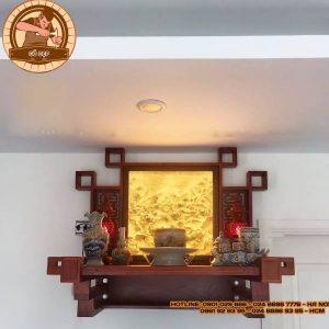 Bàn thờ treo tường Gỗ Hương TT36