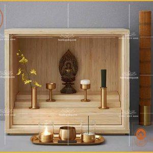 Bàn thờ thần tài thổ địa hiện đại OTT32- Bàn thờ thần tài đẹp 2020