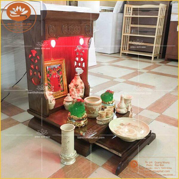 Cách bố trí bàn thờ thần tài ông địa