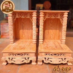 Bàn thờ thần tài gỗ hương OTT11