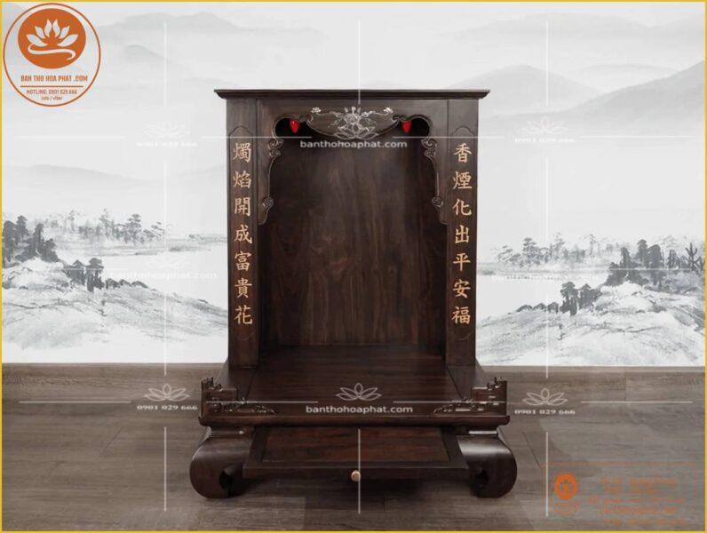 Chọn hướng đạt bàn thờ theo cung Tài Lộc hoặc Quý Nhân