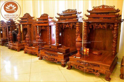 Mẫu bàn thờ ông địa mang nhiều tài lộc làm ăn