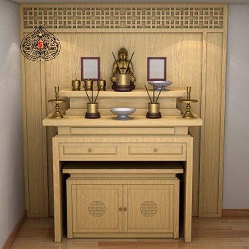 Bàn thờ có 5 bát hương có hợp phong thủy hay không?