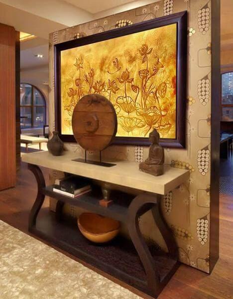 Tranh trúc chỉ nghệ thuật cho phòng khách hút hồn bất cứ ai yêu cái đẹp.