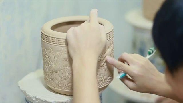 Quy trình làm bát hương gốm sứ bát tràng đơn giản