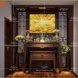 Bàn Thờ BT33 – Kích Thước Bàn Thờ Phong Thủy 1070mm