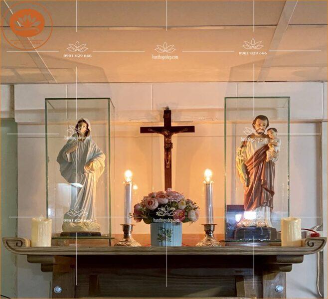 Bàn thờ công giáo đẹp TT07