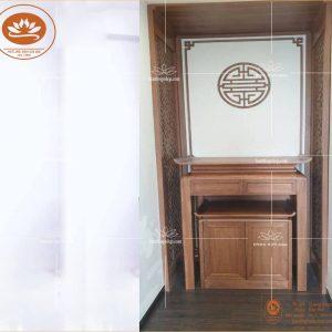 Bàn Thờ Đẹp BT 82 – chất liệu gỗ sồi – kích thước 890