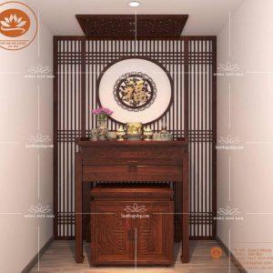 Bàn thờ đẹp BT35 – Bàn thờ tủ thờ gỗ gụ đẳng cấp sang trọng