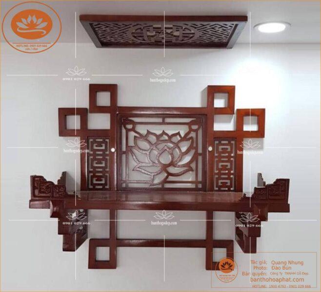 Kệ thờ gỗ Hương