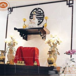 Kệ Thờ Phật TT 02 – kích thước 41 x 61 – chất liệu gỗ sồi