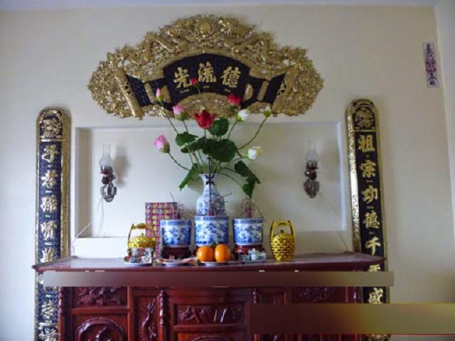 Ý nghĩa của bát hương đặt trên bàn thờ