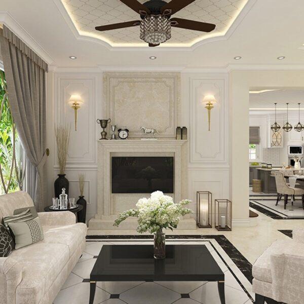 Thiết kế nội thất biệt thự theo những phong cách ấn tượng, đẳng cấp 2020