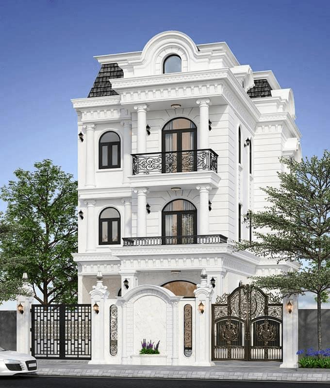 Thiết kế nội thất biệt thự phong cách Bắc Âu đẹp, hiện đại