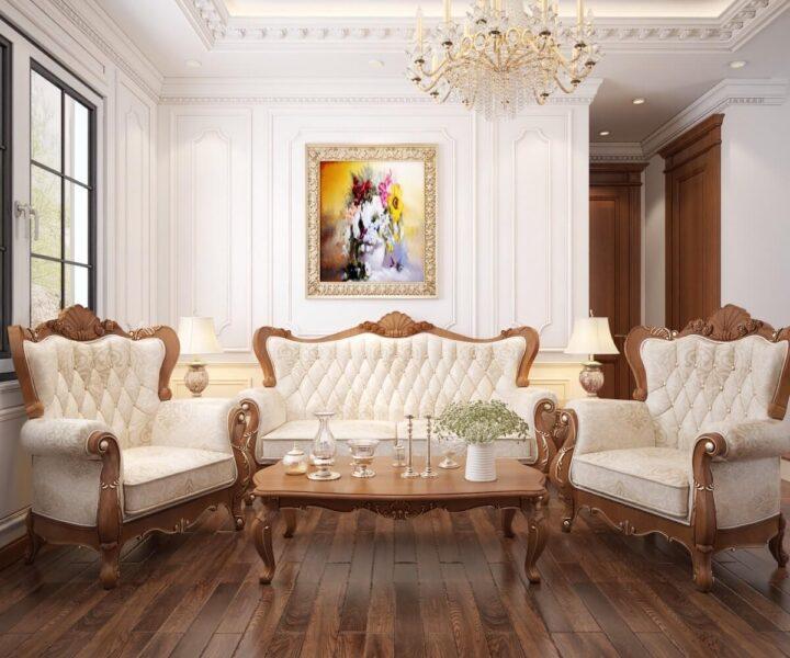Mẫu thiết kế nội thất biệt thự đẹp trong từng nét tối giản
